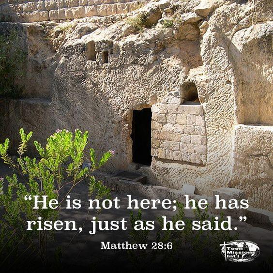 a he is risen