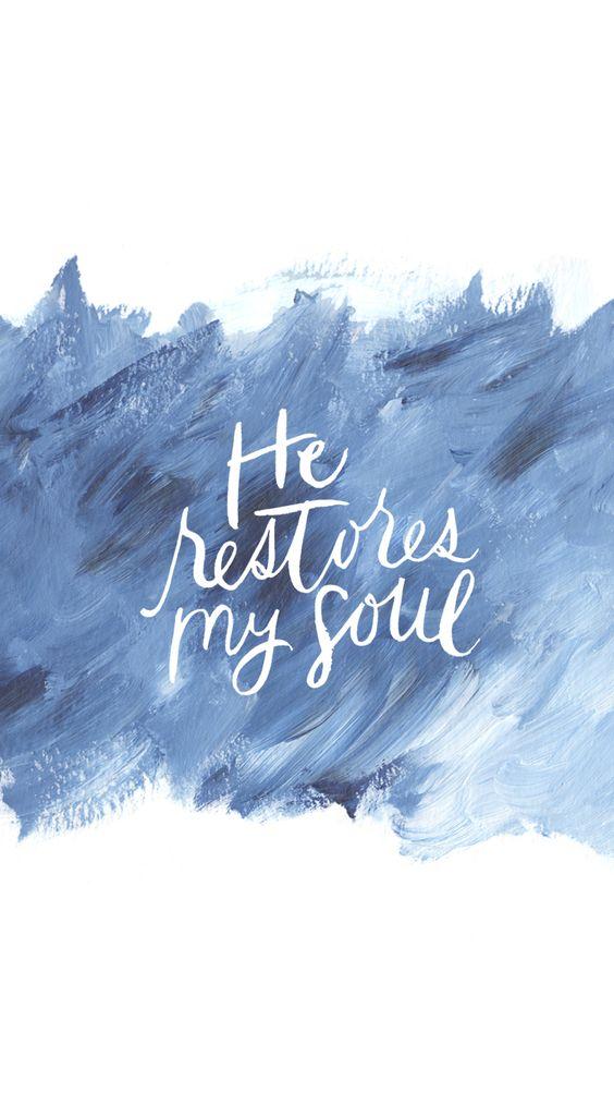 he restores
